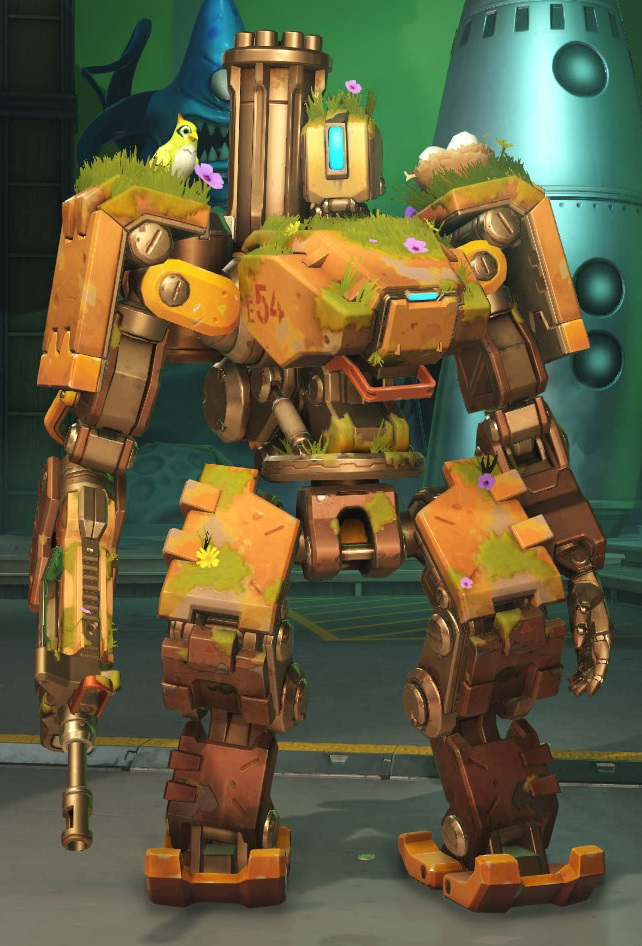 Overwatch Bastion Gaming Dictionary Art